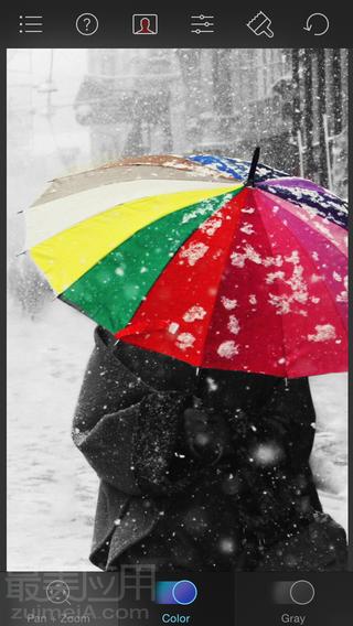 Color Splash 让照片的颜色充满了活力,还有什么比凸现出来的色彩更让人喜悦的呢?黑白的背景承托出色彩斑斓的物体,让你照片的色彩跳出来