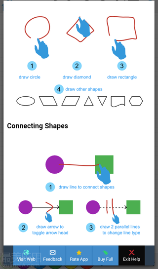 DrawExpress Diagram Lite - 流程图利器 - Android 应用 - 【最美应用】
