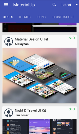 MaterialUp - 你要的 Material Design - Android 应用 - 【最美应用】