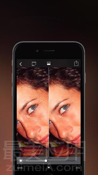 「枯藤老树昏鸦,噪点多到发麻」想必是许多在晚上灵感一来随手拍下照片的朋友心中一致的痛。每次夜晚拍照,光线昏暗时候照片噪点就会很多。满满的噪点不只在图片上更深深的在心里,造成不可估算的心理阴影面积。有了这一款 App 可有有效的去除噪点,还原一个干净的图片。