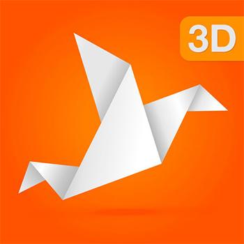 Animated 3D Origami - 每一个人身边的折纸专家 - iPhone应用 - 【最美应用】